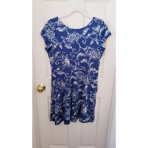Chaps casual fit and flare dress